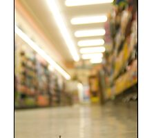 Grocery Store Shopper by Matthew Osier
