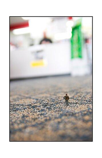 Camera Store Patron by Matthew Osier