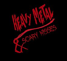 Heavy Metal & Scary Kisses by geekchicprints