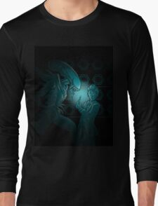 In Time and Space, No One Can Hear You Scream Long Sleeve T-Shirt