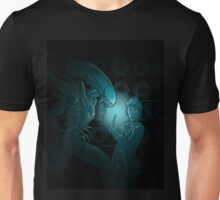 In Time and Space, No One Can Hear You Scream Unisex T-Shirt