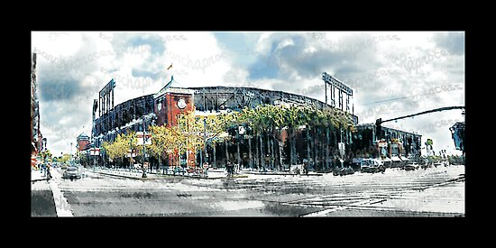 "*SF Giants Home* SBC Park  *""barchaprocess""* by barcha"