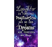 Walt Disney Qoute Photographic Print