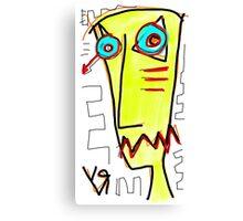 """Sad Tony"" by Richard F. Yates Canvas Print"