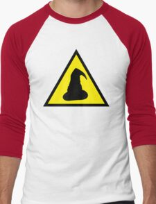 Hazard: Wizards Ahead Men's Baseball ¾ T-Shirt