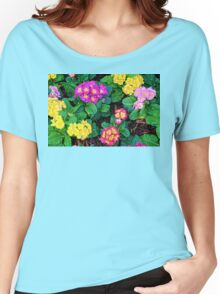 Floral Feast Women's Relaxed Fit T-Shirt