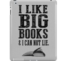 I Like Big Books iPad Case/Skin