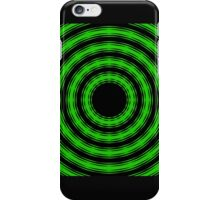 In Circles (Green Version) iPhone Case/Skin