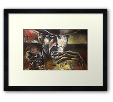 Harmonica (Charles Bronson Framed Print