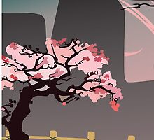 Cherry Blossom Tree by Curiousity