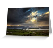 View from Duncryne Hill Greeting Card