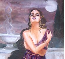 Cassandra on the walls of Troy by MaviSchirripa