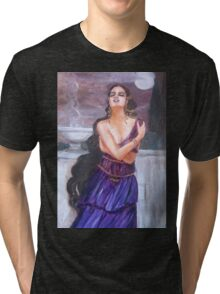 Cassandra on the walls of Troy Tri-blend T-Shirt