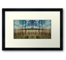 Yorkshire Reflect Framed Print