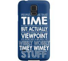 Doctor Who Timey Wimey Samsung Galaxy Case/Skin