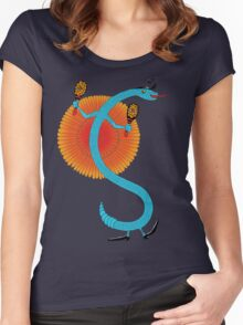 Snake, Rattle and Roll Women's Fitted Scoop T-Shirt