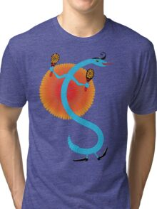 Snake, Rattle and Roll Tri-blend T-Shirt