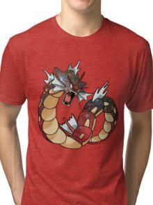 Gyarados - Pokemon Tri-blend T-Shirt