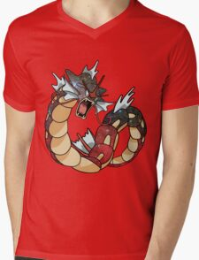 Gyarados - Pokemon Mens V-Neck T-Shirt