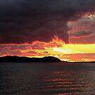 another brilliant sunset over Pic Island by loralea