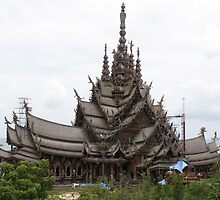 Sanctuary of Truth - the whole structure by peaka3
