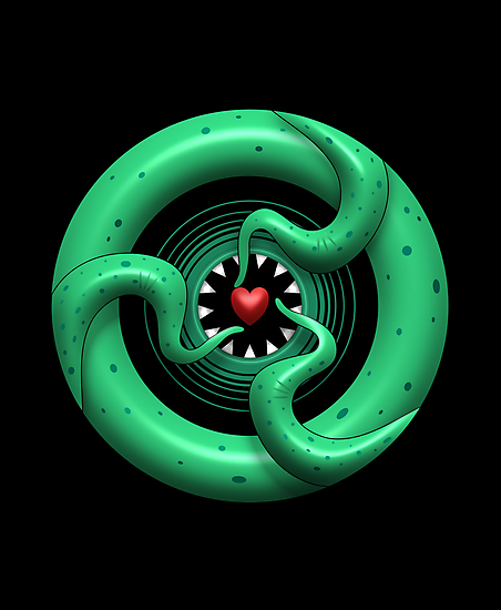 Cthulhu Heart by Rustyoldtown