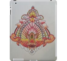 Red, Orange, and Yellow Mandala iPad Case/Skin