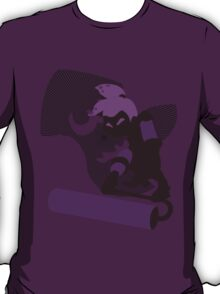 Violet Male Inkling - Sunset Shores T-Shirt