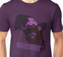 Violet Male Inkling - Sunset Shores Unisex T-Shirt