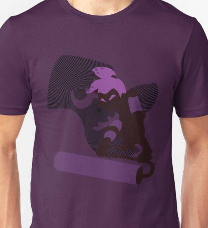 Violet Male Inkling - Sunset Shores Unisex T-Shirt