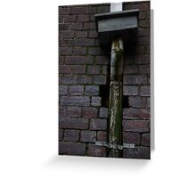 ILL PIPE Greeting Card