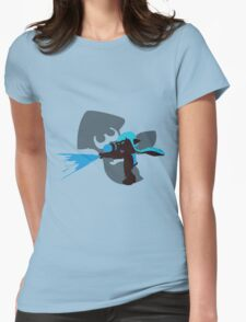 Light Blue Female Inkling - Sunset Shores Womens Fitted T-Shirt