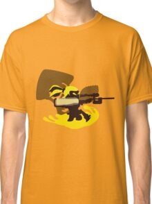 Yellow Male Inkling - Sunset Shores Classic T-Shirt