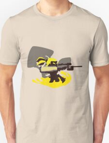Yellow Male Inkling - Sunset Shores Unisex T-Shirt