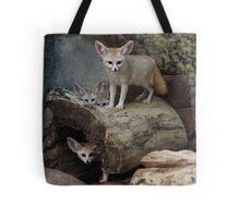 Awesome Fennec Fox Tote Bag