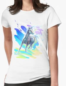 Color Horse Womens Fitted T-Shirt