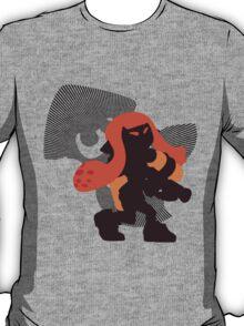 Orange Female Inkling - Sunset Shores T-Shirt