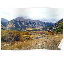 Awesome Color near Twin Lakes, Colorado Poster