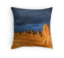 Another Planet, The Pinnacles, WA Throw Pillow