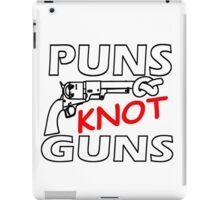 PUNS KNOT GUNS iPad Case/Skin
