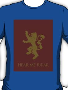 Lannister sigil and words T-Shirt