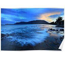Tessellated Pavement, Eaglehawk Neck, Tasmania, Australia Poster
