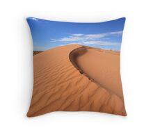 Sand Dune, Simpson Desert, Australia Throw Pillow