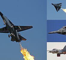 RAAF F-111 by Daniel McIntosh