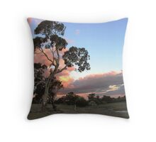 Sundown at McAlister Springs Throw Pillow