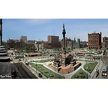 Cleveland's Public Square 1907 Colorization Photographic Print