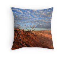 Sunset, Simpson Desert Throw Pillow