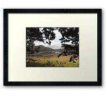 Ladies View Framed Print