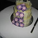 wedding cake by sharon wingard