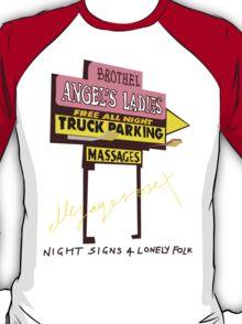 Night Signs 4 Lonely Folk #1 T-Shirt